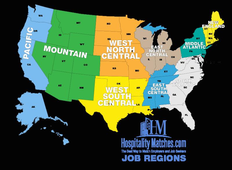Job Regions